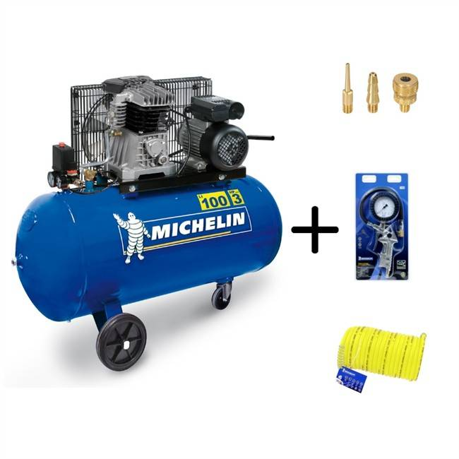 Norauto Compresseur Michelin Mb 100 + Accessoires Offert