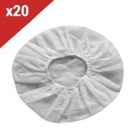 Onedirect - Charlottes hygiéniques blanches - 20 Unités <br /><b>9.54 EUR</b> Onedirect