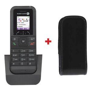 Alcatel Téléphone sans fil Alcatel-Lucent 8232S DECT + Housse Simili Cuir - Publicité