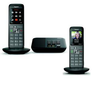 Siemens Téléphone sans fil avec répondeur Gigaset CL660A Duo - Publicité
