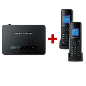 Grandstream Pack Duo : Base DECT Grandstream DP750 + 2 combinés DP720 - Publicité
