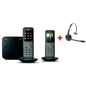 Siemens Pack Gigaset CL660 Duo+ Casque sans fil - Publicité