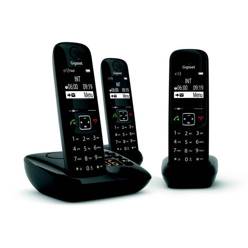 Siemens Gigaset AS690A téléphone sans fil Trio