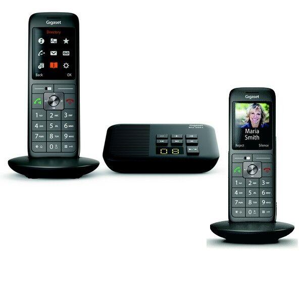 Siemens Téléphone sans fil avec répondeur Gigaset CL660A Duo