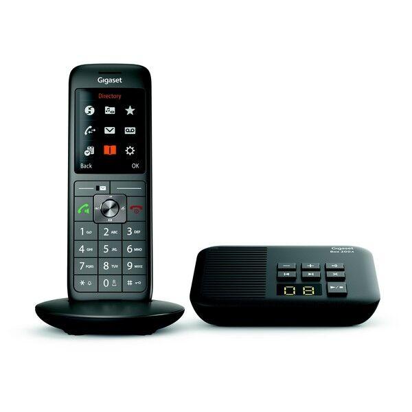 Siemens Téléphone fixe sans fil avec répondeur Gigaset CL660A