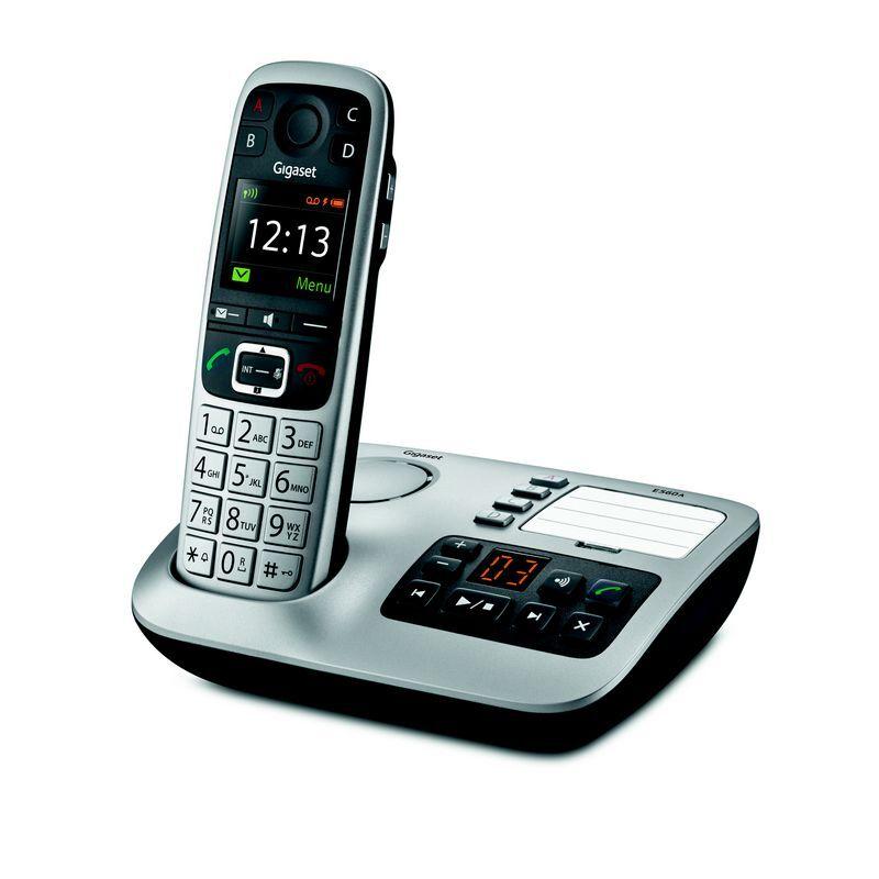 Siemens Téléphone sans fil avec répondeur Gigaset E560A