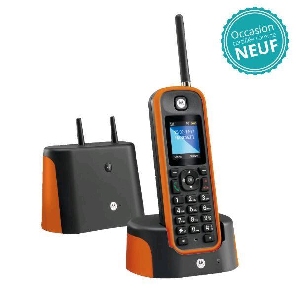 Motorola Téléphone sans fil Motorola O201 Orange - Occasion