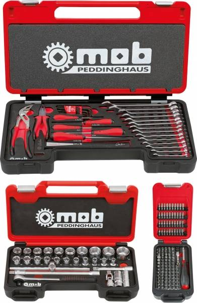 Mob Outillage Fusion box X3 Multi + 1/2 + embouts