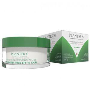 Planter's Aloe Vera Crème de Jour visage Hydratante 50 ml Hydratante Intense et Protectrice SPF 15 Jour
