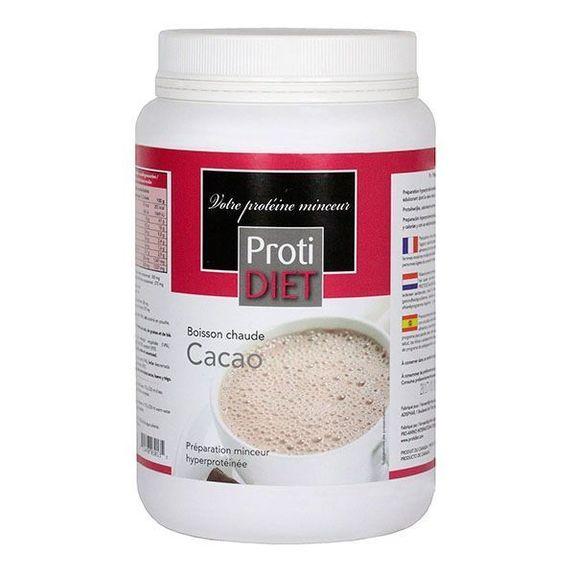 Protidiet Cacao Chaud Pot Poudre 500g Préparation hyperprotéinée boisson Chaude au Cacao