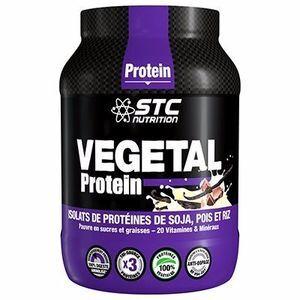 STC Nutrition vegetal Protein Vegan 750g vanille Sans aspartame - Sans lactose ? Sans gluten