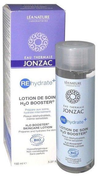 Jonzac Rehydrate+ Lotion de Soin bio 150ml Préparer la peau déshydratée même sensible aux soins, hydrater intensément.