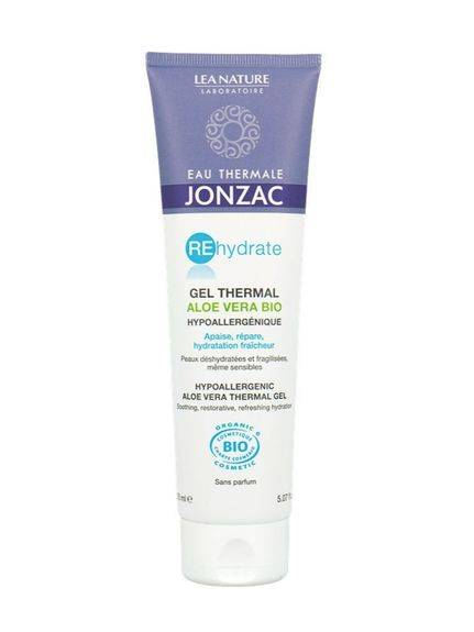 Jonzac Gel Thermal d'Aloe Vera Bio 150ml Apaise, répare
