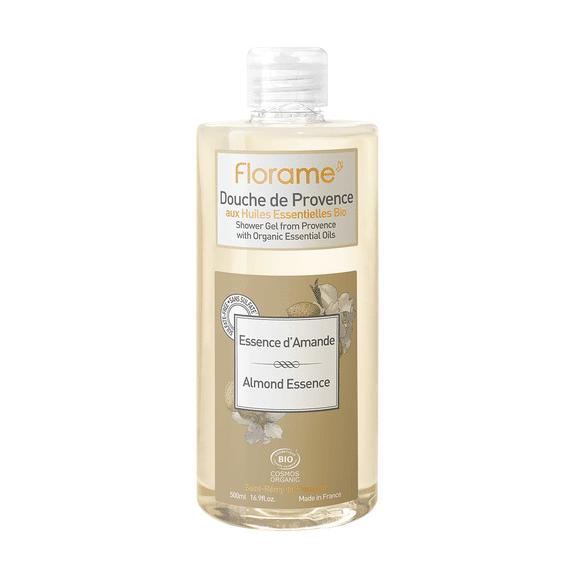 Florame Gel Douche bio de Provence Essence d'Amande 1 litre Gel Douche de Provence