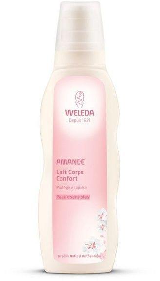 Weleda Lait Corps Confort à l'Amande 200ml Apaise les peaux sujettes aux irritations et contribue à atténuer les rougeurs.