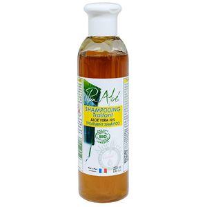 pur aloe Pur Aloé Shampoing Traitant à l'Aloe Vera 70% Bio 250 ml Base lavante sans sulfate