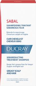 Ducray Sabal shampooing traitant séboréducteur 200ml Soin d'attaque Cheveux gras