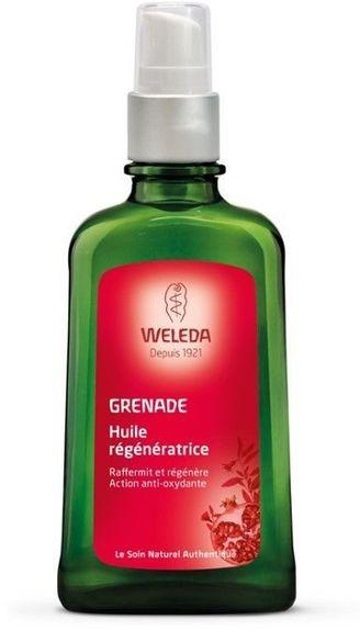 Weleda Huile régénératrice à la Grenade 100ml active le renouvellement cellulaire - action anti-oxydante