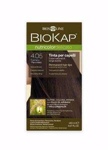 Biokap Coloration Delicato 4.05 chatain chocolat 140ml Les colorations BioKap Nutricolor Delicato conviennent même aux cuirs chevelus les plus sensibles.