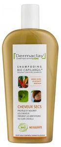 Dermaclay shampooing bio cheveux secs et rèches 400ml Nourrit la fibre sans l?alourdir et protège les cheveux des radicaux libres. Les cheveux sont souples, brillants. Le cuir chevelu est protégé des irritations.