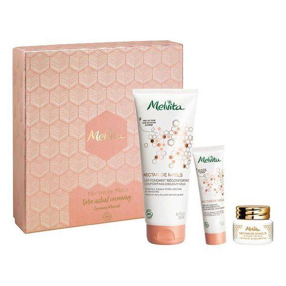 Melvita - Coffret Nectar de Miels BIO Contient 3 produits hydratants