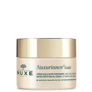 Nuxe Crème-Huile Nutri-Fortifiante Nuxuriance gold 50ml Crème anti-âge absolu- Redensifie, nourrit, ravive l'éclat Peaux sèches, fragilisées par l'âge.