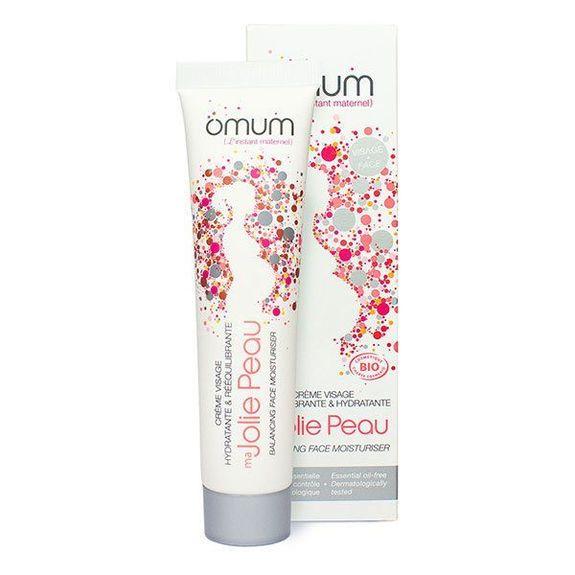 Omum Ma Jolie Peau Crème Visage bio 40ml Hydratante & rééquilibrante