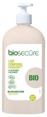 Biosecure lait Bio corporel hydratant 730ml Le lait corporel Bio Secure hydrate intensément la peau même de toute la famille au quotidien.