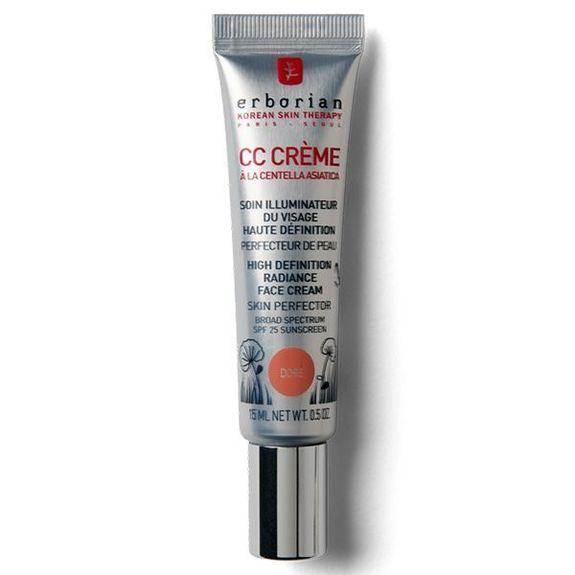 Erborian CC Crème HD à la Centella Asiatica Doré 15ml spf 25 Soin Illuminateur Haute Définition Perfecteur de Peau