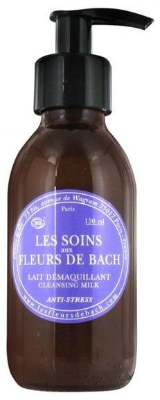 fleurs de bach Lait démaquillant anti-stress Fleurs de Bach 150ml Une émulsion onctueuse qui élimine le maquillage et les impuretés tout en douceur.
