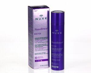 Nuxe Nuxellence Detox Nuit Anti-Age 50ml Lisse, régénère et dégrise le teint