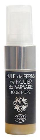 abiocom Huile de pépins de Figuier de Barbarie 100 % Pure bio 15 ml Cette huile sèche pour le visage est régénérante et restructurante pour votre peau.