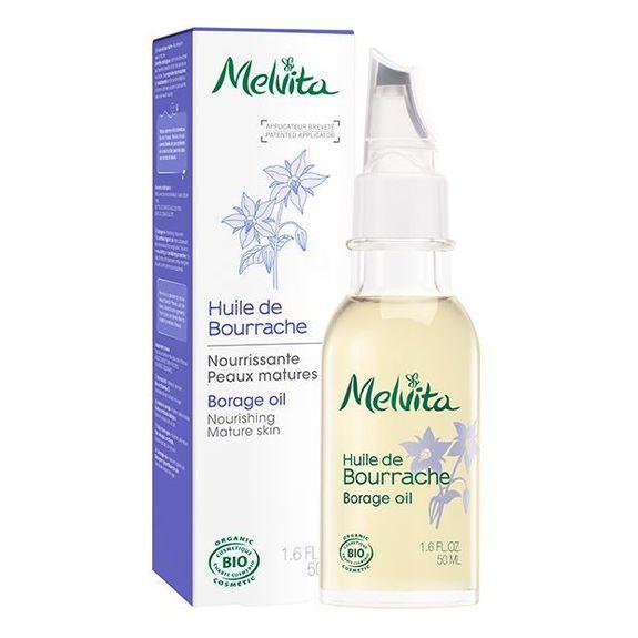 Melvita Huile de Bourrache Bio 50 ml Nourrir les peaux matures.