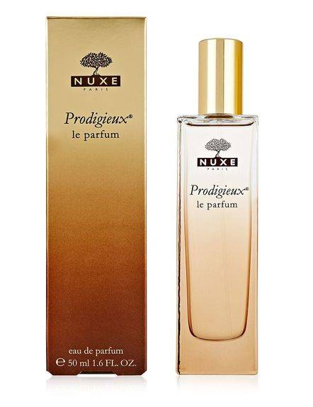 Nuxe Prodigieux le parfum 50ml Au parfum de l'Huile Prodigieuse®. Aux notes de Fleur d'Oranger, Magnolia et Vanille. Eau de parfum.