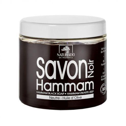 Naturado Savon noir hammam Bio 600g A l'huile d'Olive