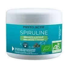 Phyto Actif Spiruline Bio 150 Comprimés Immunité & fatigue