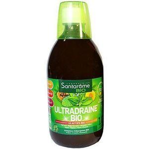 Santarome Bio Ultradraine Bio Goût thé vert citron 500ml Draineur aux 10 actifs bio