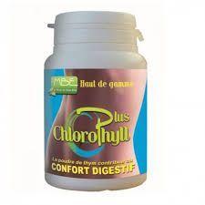 MBE Chlorophyll Plus - 60 gélules Clorophylle magnésienne extraite de la luzerne