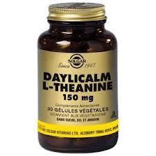 solgar Date courte 12/19 Solgar L theanine 150mg 30 gelules Un acide aminé extrait du thé vert.