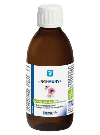 nutergia Ergymunyl 250ml nutergia Complément alimentaire à base d?Echinacée, Achillée, Plantain, Romarin et Oligoéléments