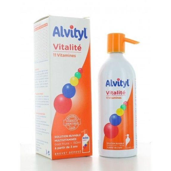 urgo Alvityl Sirop 150ML 11 VITAMINES
