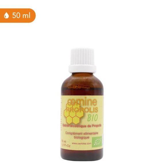 Oemine propolis bio 50ml Complément alimentaire à base de propolis biologique