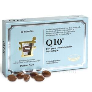 pharma nord Q10 30mg, 60 capsules Pharma nord Complément alimentaire à base de Coenzyme Q10 pour lutter contre la fatigue et puissant anti-âge.