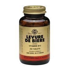 Solgar Levure de bière + vit b12 250 tablets Riche en protéines et en vitamines du groupe B, notamment en vitamine B12, la levure de bière Solgar est un supplément de choix pour les végétariens ainsi que pour les sportifs.