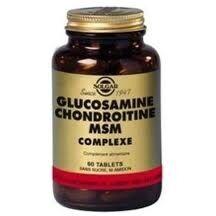 Solgar Glucosamine Chondroïtine MSM 60 tablets Les glycosaminoglycanes (glucosamine, chondroïtine) ainsi que le soufre sont des constituants essentiels des cartilages articulaires.