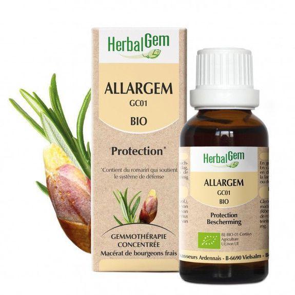 Herbalgem Allargem Bio 30ml Un bouclier naturel contre les manifestations allergiques