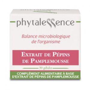Phytalessence Extrait de Pépins de Pamplemousse 30 gélules Résistance de l'organisme