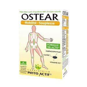 phyto actif Ostéar Capsules boite de 45 capsules Le complément alimentaire pour vos articulations : essayez ça marche !?