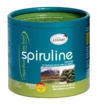 Flamant Vert Spiruline 500 comprimés L'Algue Bleue des Andes est la Spiruline de FLAMANT VERT.