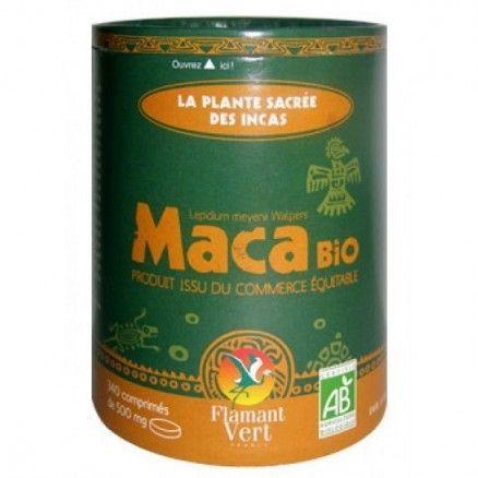 Flamant Vert Maca Bio 340 comprimés 340 comprimés, poids net 170g
